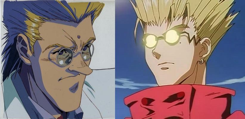 à gauche, un héros. à droite, une nouille.